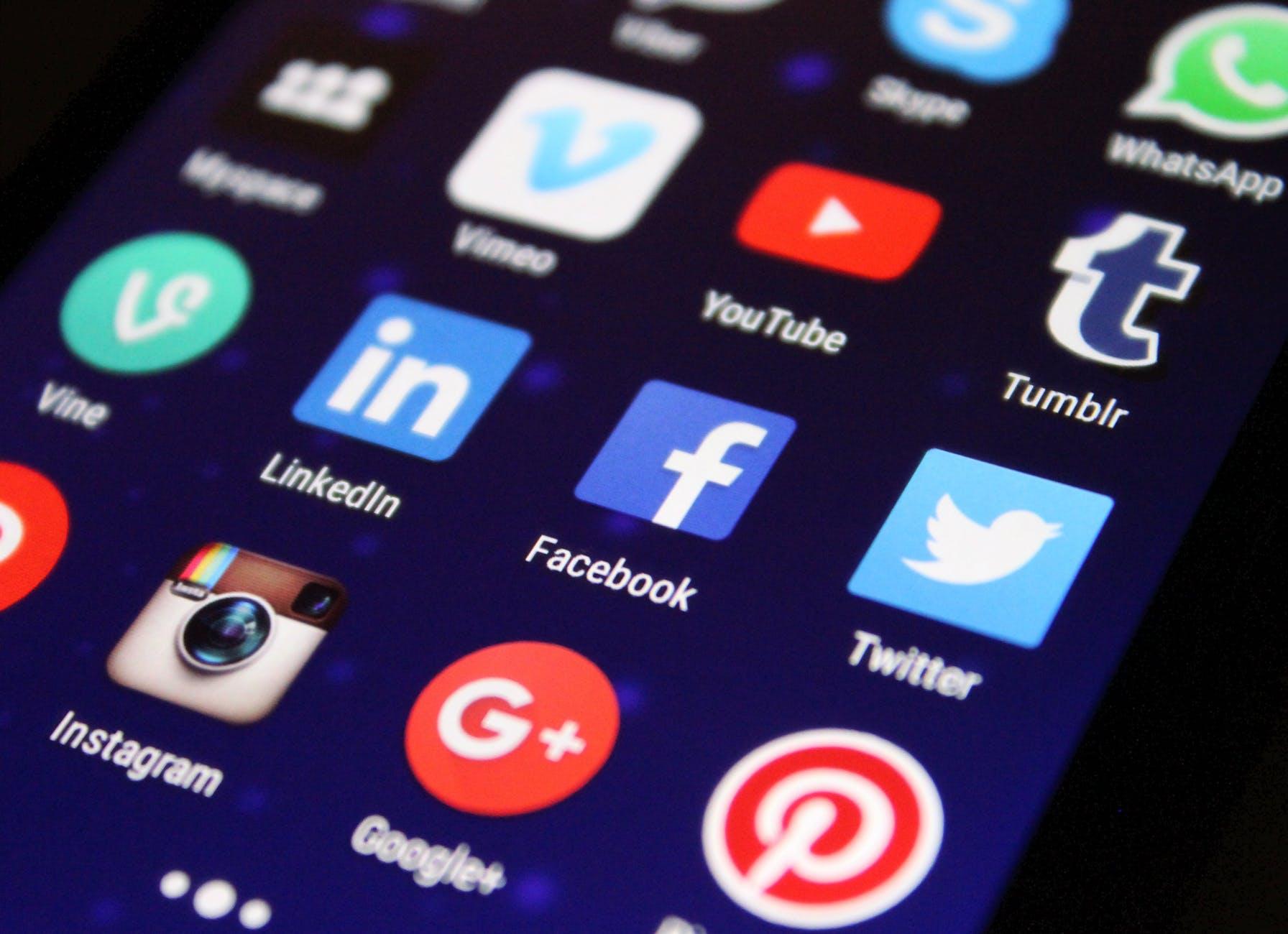 iconos xarxes socials